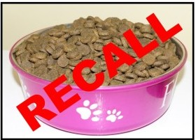 Recall dog food